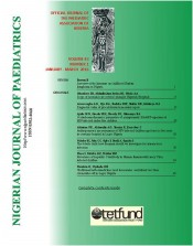 Nigerian J Paediatrics 2016 vol 43 issue 1